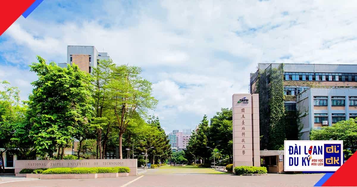 Đại học khoa học kỹ thuật quốc lập Đài Bắc NTUT National Taipei University of Technology